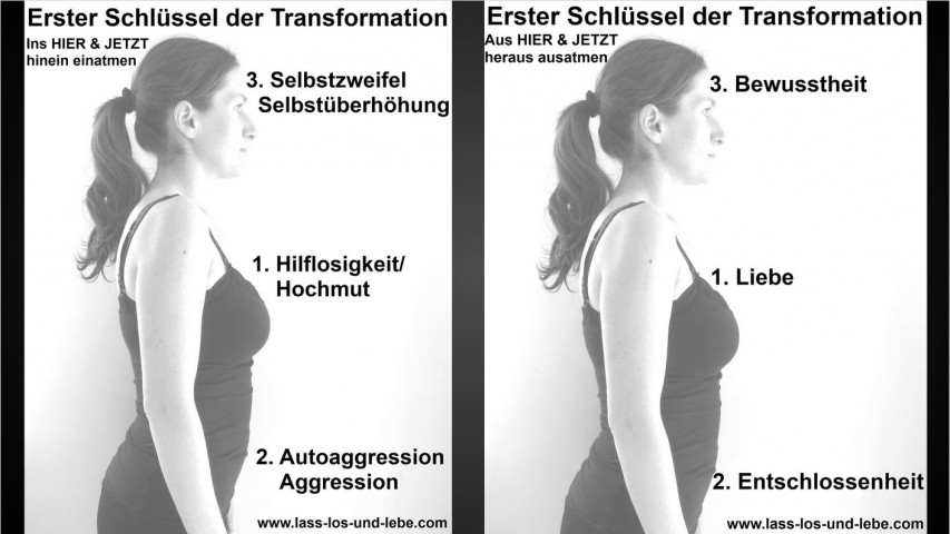 L+A+S=S los & L+E+B=E! Schlüssel der Transformation